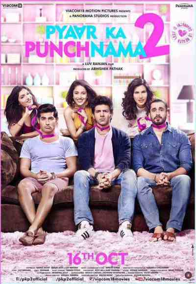 Pyaar Ka Punchnama 2 movie poster