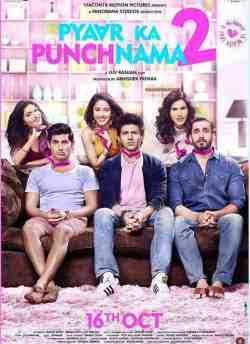 प्यार का पंचनामा 2 movie poster