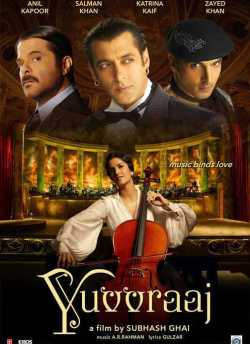 Yuvvraaj movie poster