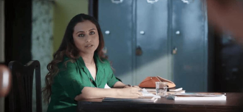 Rani Mukherjee in Hichki