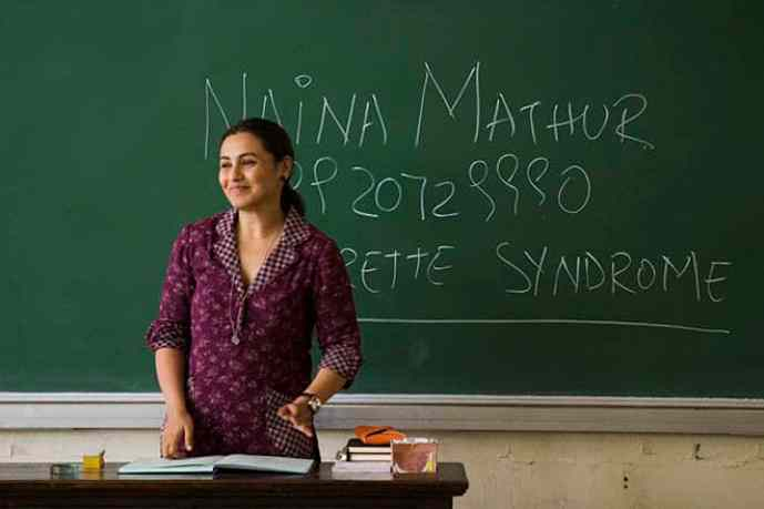 Rani Mukherjee in Hichki