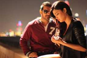 A Still from rocky handsome