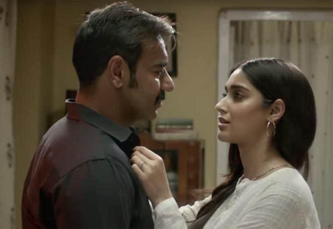 Ajay Devgn and illeana D'cruz in Raid