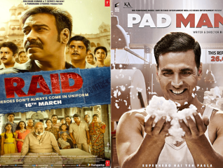 Raid vs Padman box office battle