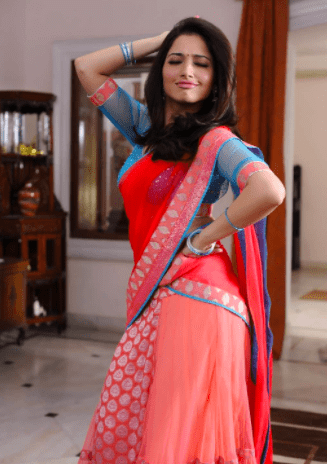 A very funny pose from her movie Tadakha