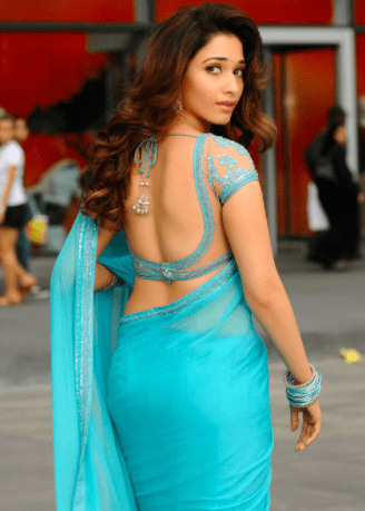Yet another saree still from Rebel