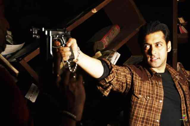 Salman Khan in the movie Wanted