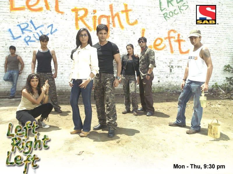 Left Right Left tv serial poster