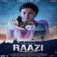 Raazi Title Track album artwork