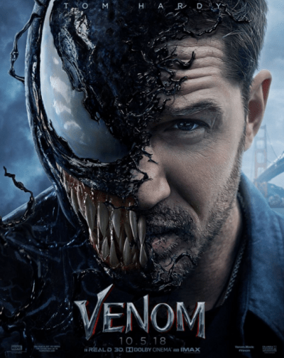 वेनम movie poster