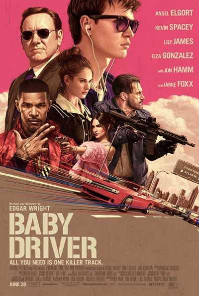 बेबी ड्राइवर movie poster