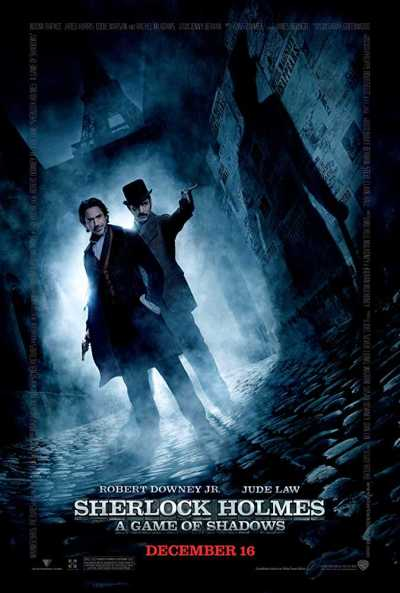 Sherlock Holmes: A Game of Shadows movie poster
