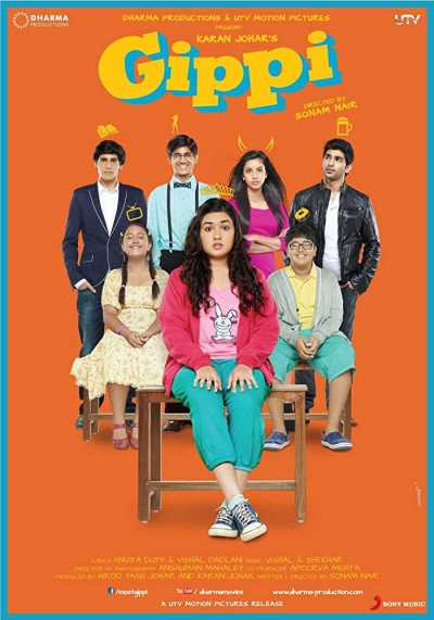 Gippi movie poster