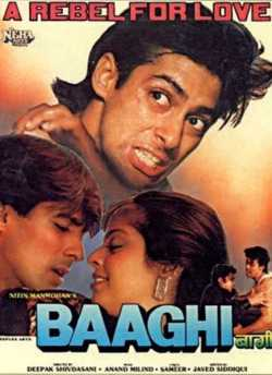 Baaghi (1990) movie poster