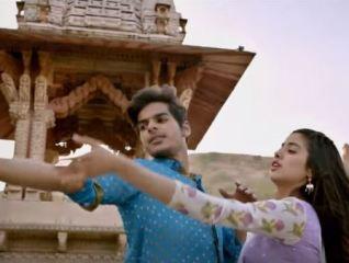 A Still from Movie Dhadak