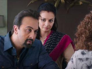 A Still from movie Sanju