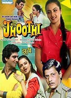 Jhoothi movie poster