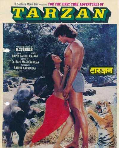 Adventures of Tarzan movie poster