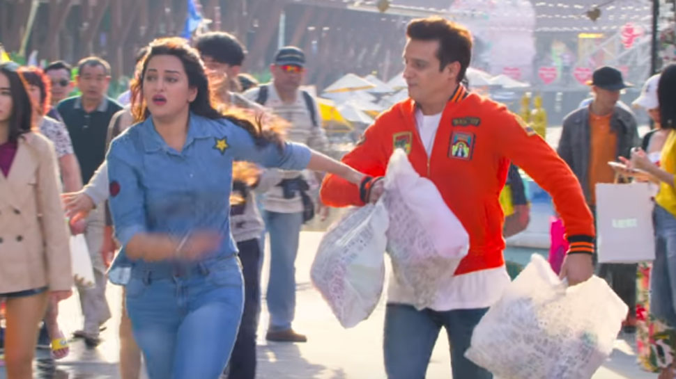 Sonakshi Sinha and Jimmy Shergill in the movie HPBJ