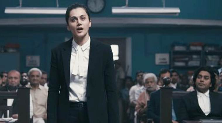 Taapsee Pannu in movie Mulk