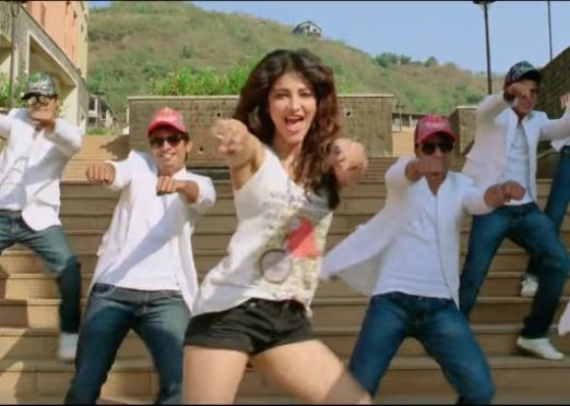 Shruti haasan in the movie Gabbar is Back