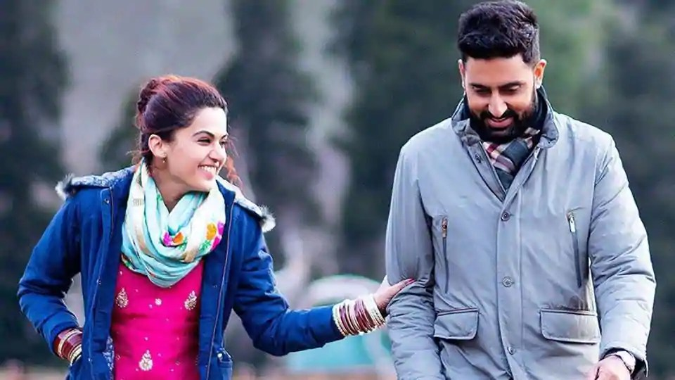 Taapsee Pannu and Abhishek Bachchan in Manmarziyaan Movie