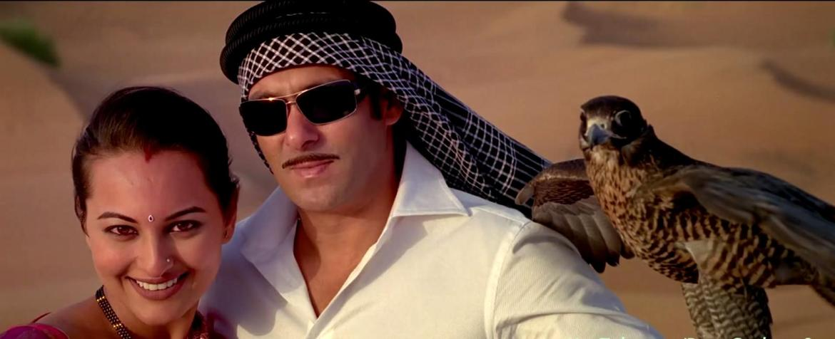 Sonakshi Sinha and Salman Khan in the song Chori Kiya Re Jiya