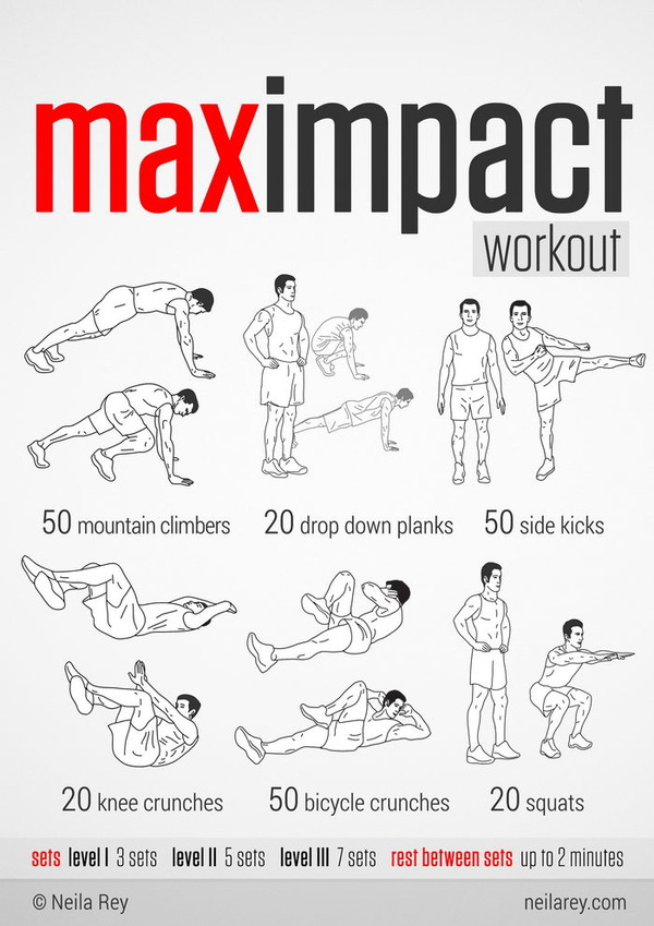 Max Impact workout