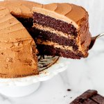 Midge's Chocolate Mayo Cake with Espresso Buttercream
