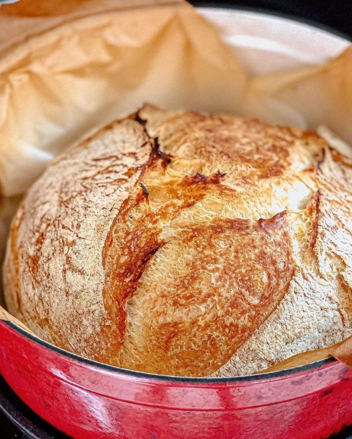 vegan artisan-style bread