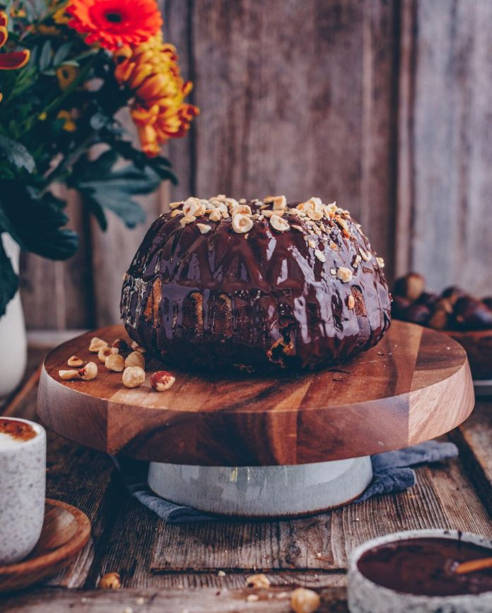 Chestnut Marble Bundt Cake