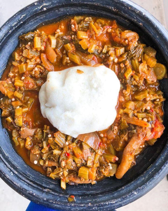 Ghanaian Cuisine: Okra Stew
