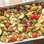 Pesto-Roasted Gnocchi and Veggies