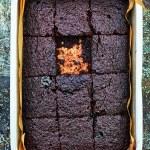 Vegan Salted Miso Brownies from Meera Sodha's EAST Cookbook