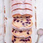 Easy Vegan Lemon Blueberry Loaf Cake
