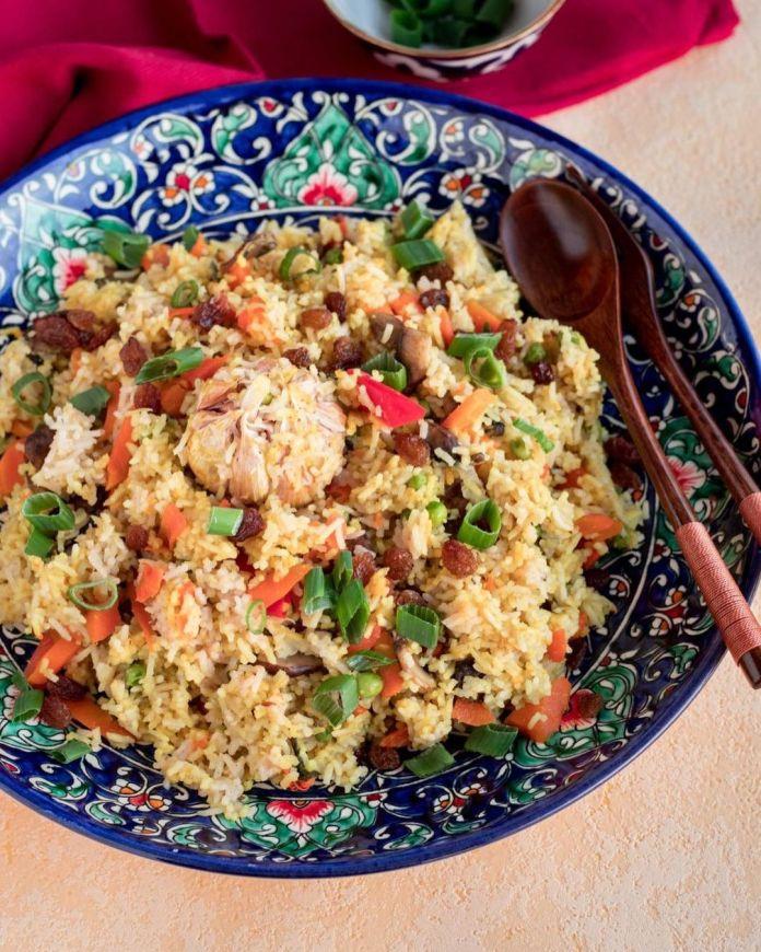 Vegan Uzbek Cuisine: Plov