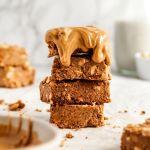 Flourless Vegan Peanut Butter Bars