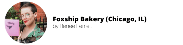Women-Owned Vegan Bakeries: Foxship Bakery by Renee Ferriell