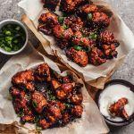 Spicy Gochujang Vegan Cauliflower Wings