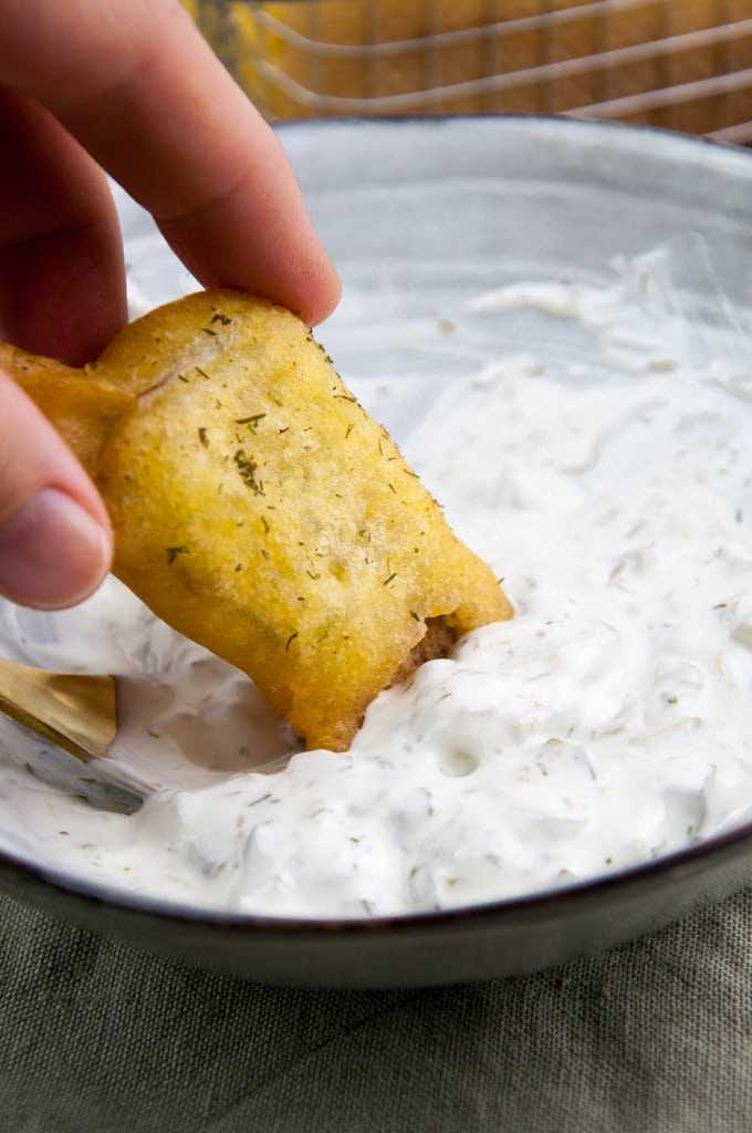 vegan artichoke fish