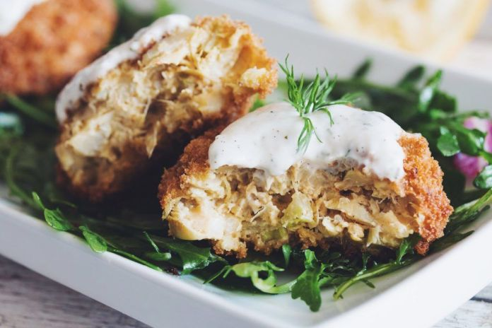 vegan artichoke recipe: vegan crab cakes