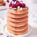 Vegan Spelt and Buttermilk Vanilla Pancakes
