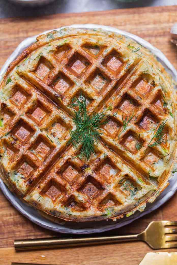 vegan potato waffle recipe
