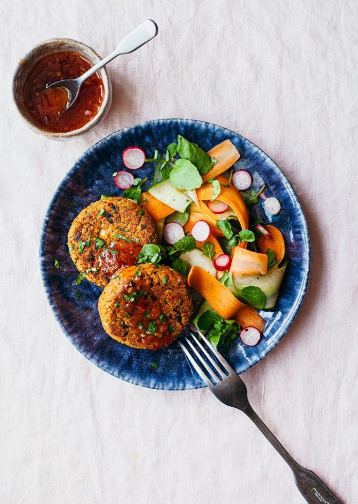 Vegan Chia Recipe: Thai fishcakes