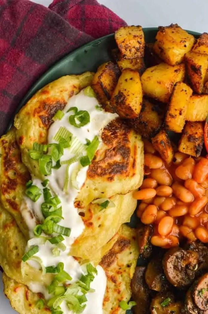 Vegan Irish Pancakes (Boxty))