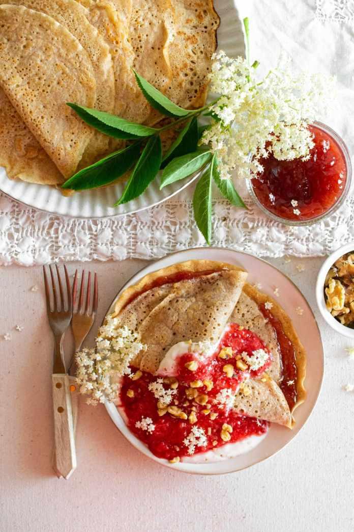 Swedish Vegan Pancake Recipe