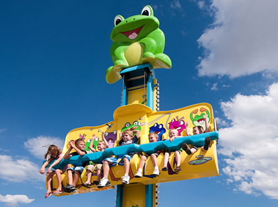 Jumping frog rides for sale