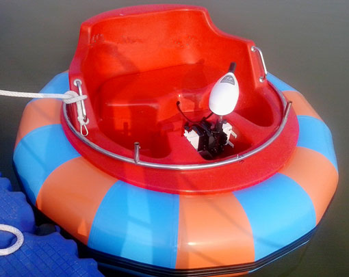 Kids and Adults Electric Bumper Boats For Pool