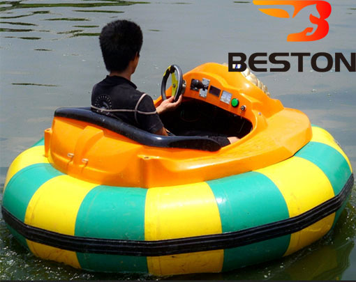 Amusement Park Large Inflatable Bumper Boats For Sale