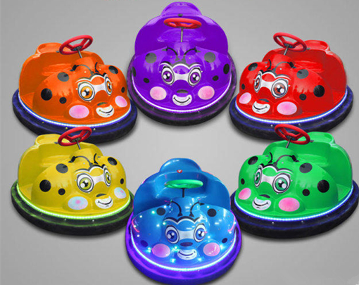 Beatles theme small bumper cars for kids with battery